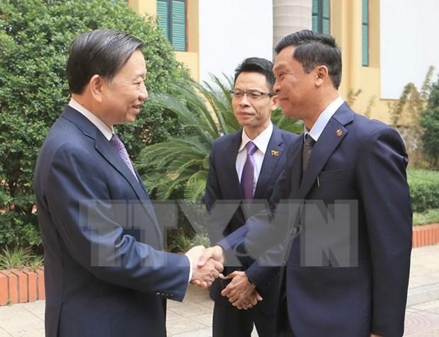 越南与缅甸加强安全合作 hinh anh 1