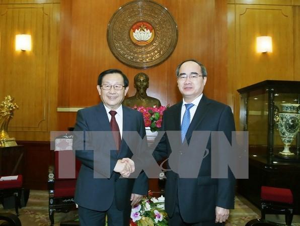 进一步促进越南祖国阵线与中国全国政协的关系 hinh anh 1