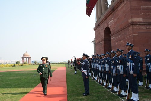 防务合作已成为越印两国全面战略伙伴关系中的重要支柱 hinh anh 1