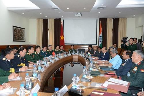 防务合作已成为越印两国全面战略伙伴关系中的重要支柱 hinh anh 2