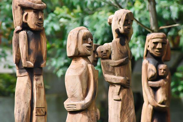 嘉莱省复活嘉莱族与巴拿族同胞的民间木雕工艺 hinh anh 1