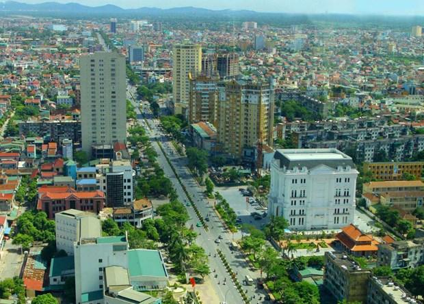 越南祖国阵线中央委员会主席阮善仁:需将荣市建成一个安全现代的智慧城市 hinh anh 1