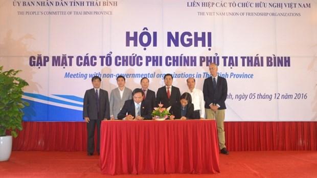 太平省力争到2017年将有20多个外国非政府组织赴该省开展长期项目 hinh anh 1