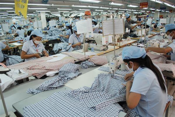 越南对美国的纺织品出口额约达95亿美元 hinh anh 1