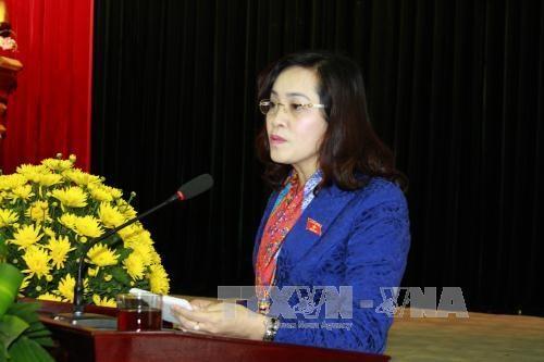 越南国会领导继续与各地选民接触 hinh anh 3