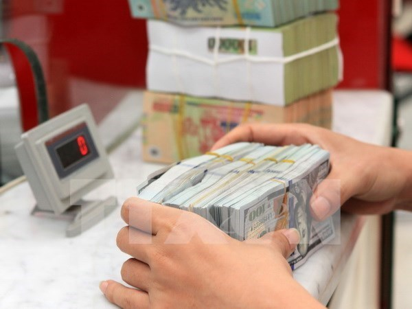 越盾兑美元中心汇率较前一日上涨4越盾 hinh anh 1