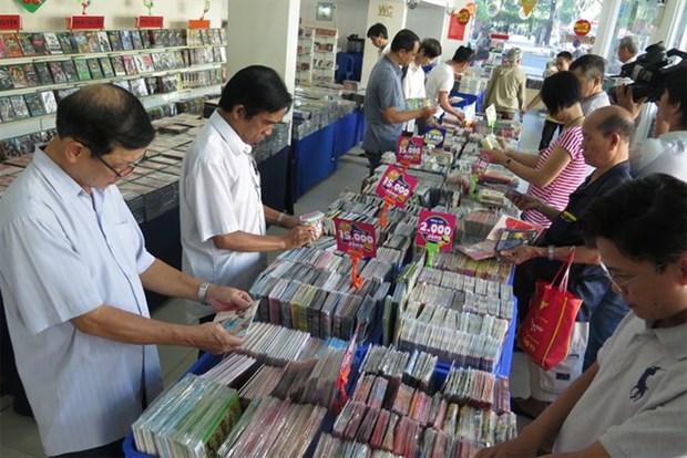 2016年南部磁带光碟展在胡志明市举行 hinh anh 1