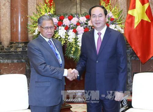 国家主席陈大光:将越马双边贸易额提升至150亿美元 hinh anh 1