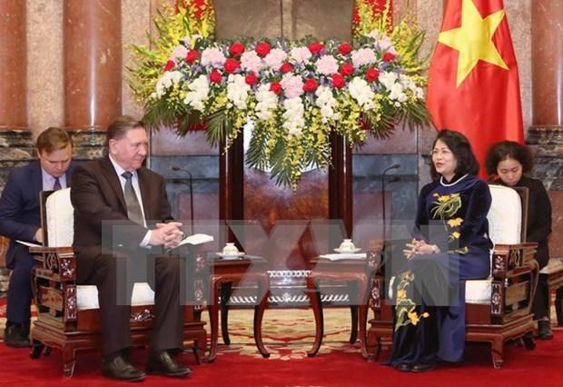 大力推动越南各地方与俄罗斯库尔斯克省的经济合作 hinh anh 1