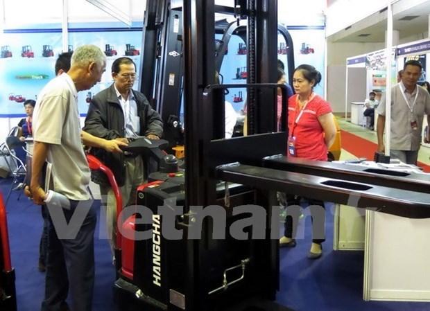 越南工业产品、原材料及机械设备国际展览会拉开序幕 hinh anh 1