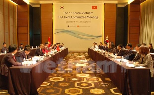 越韩经济合作混合委员会会议取得圆满成功 hinh anh 1