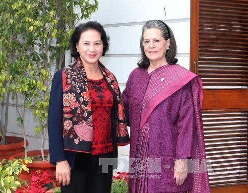 印度共产党总书记:印度十分重视发展与越南的关系 hinh anh 2