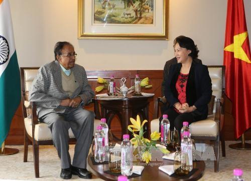 印度共产党总书记:印度十分重视发展与越南的关系 hinh anh 1