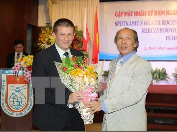 波兰独立日98周年纪念典礼在胡志明市举行 hinh anh 1