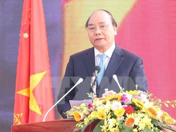 越南政府总理阮春福出席兴安省建省185周年纪念典礼 hinh anh 1