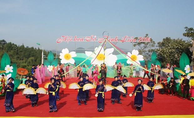 2016年油茶花节在广宁省平辽县正式开幕 hinh anh 1