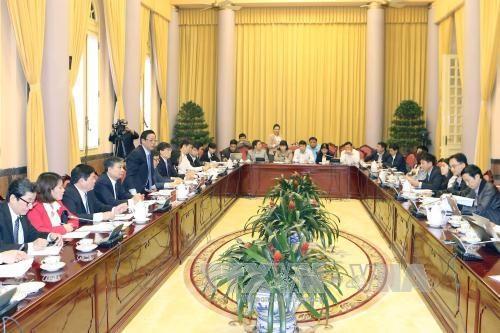 越南国家主席办公厅对外公布获国会通过的三部重要法律 hinh anh 1