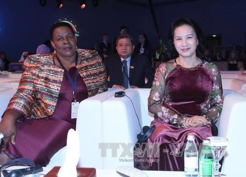 第11届全球女性议长峰会拉开序幕 hinh anh 1