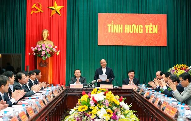 阮春福总理:兴安省力争至2020年游客接待量增加四倍 hinh anh 1