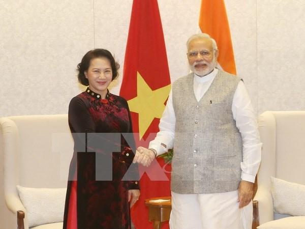 越南副外长何金玉:阮氏金银对印度进行访问有助于进一步深化越印两国关系 hinh anh 1