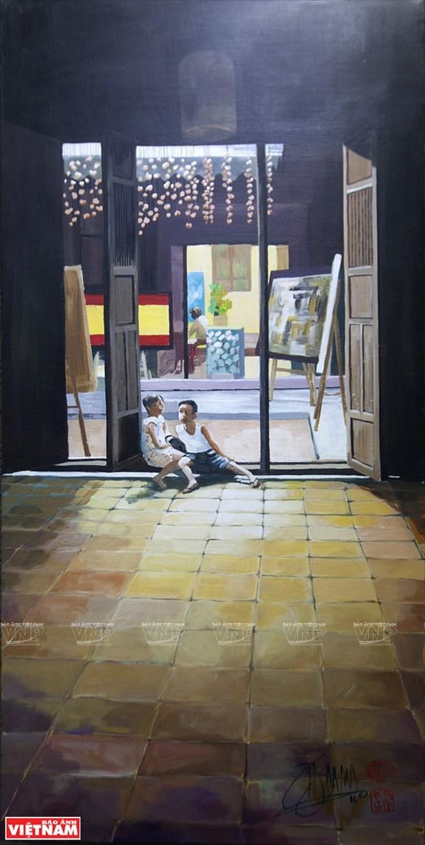 英国画家画中的越南窗口 hinh anh 10
