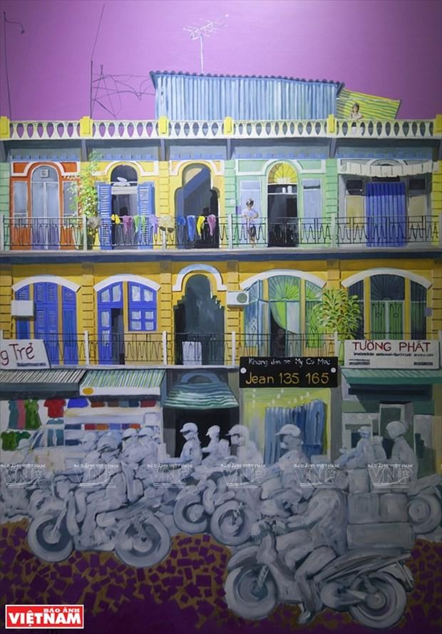 英国画家画中的越南窗口 hinh anh 11