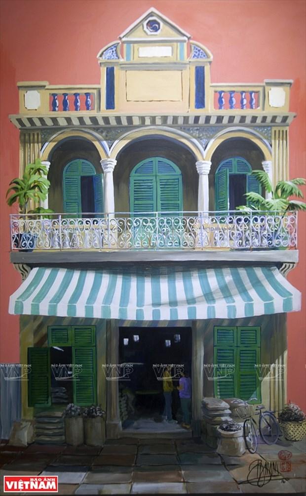 英国画家画中的越南窗口 hinh anh 12
