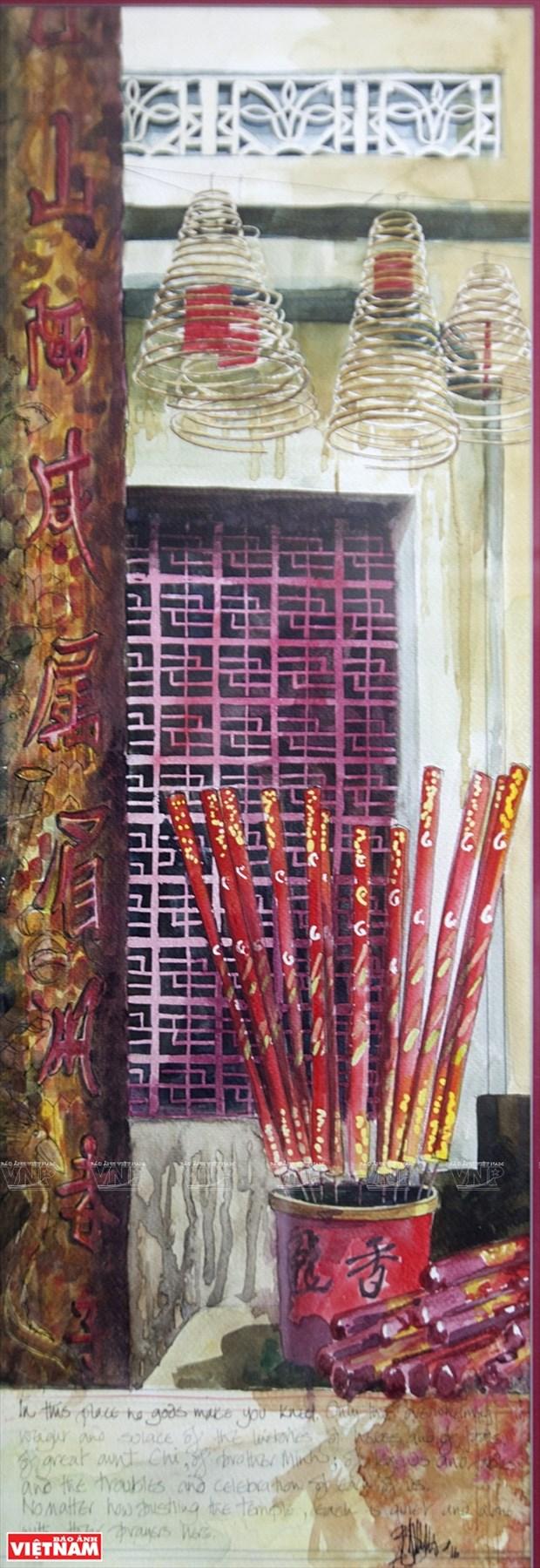 英国画家画中的越南窗口 hinh anh 13