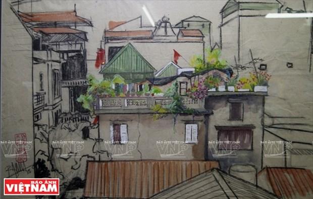 英国画家画中的越南窗口 hinh anh 14