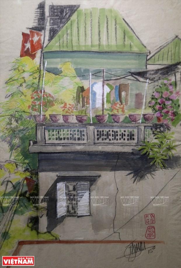 英国画家画中的越南窗口 hinh anh 15