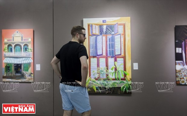 英国画家画中的越南窗口 hinh anh 4