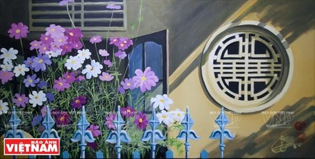 英国画家画中的越南窗口 hinh anh 5