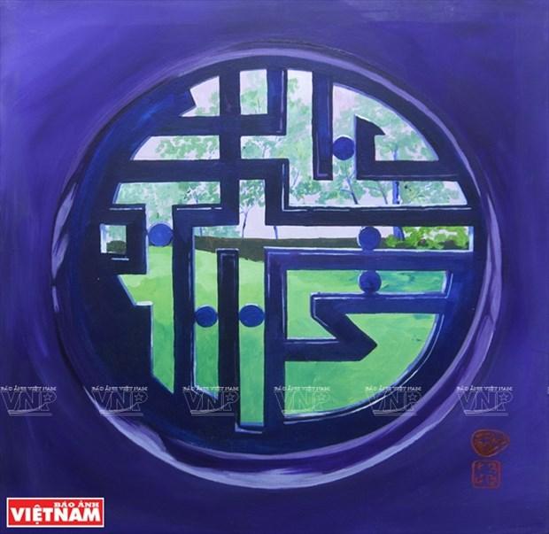 英国画家画中的越南窗口 hinh anh 6
