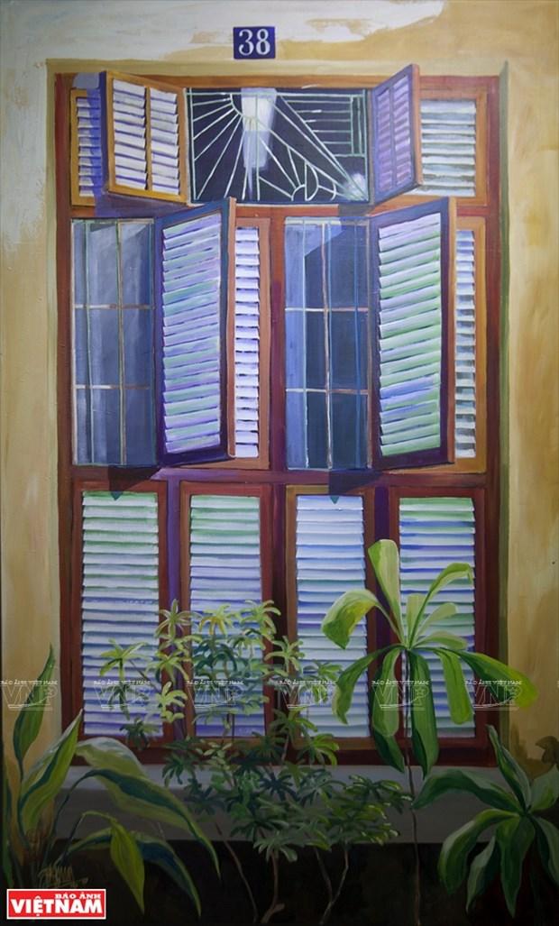 英国画家画中的越南窗口 hinh anh 7