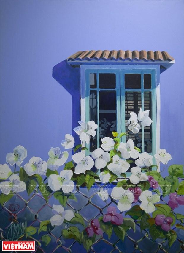 英国画家画中的越南窗口 hinh anh 8