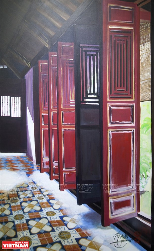 英国画家画中的越南窗口 hinh anh 9