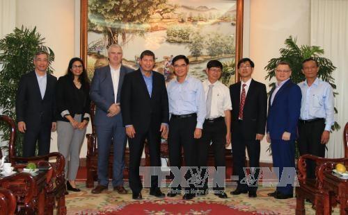 美国柏克德集团赴越了解龙城国际机场项目 hinh anh 1