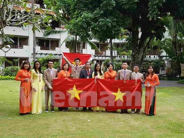 第13届国际青少年科学奥赛 越南六名选手均获奖 hinh anh 1