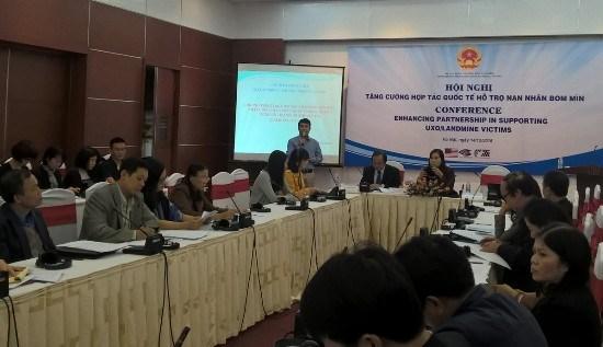 加强国际合作 携手帮助地雷受害者 hinh anh 1