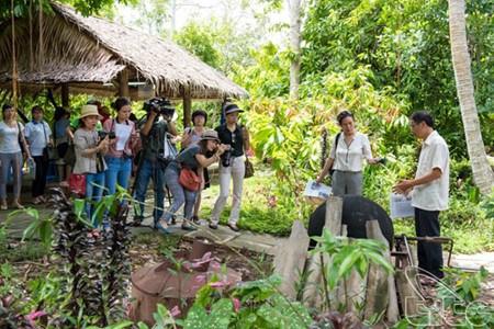 UNESCO建议芹苴市引进社区旅游模式 hinh anh 1