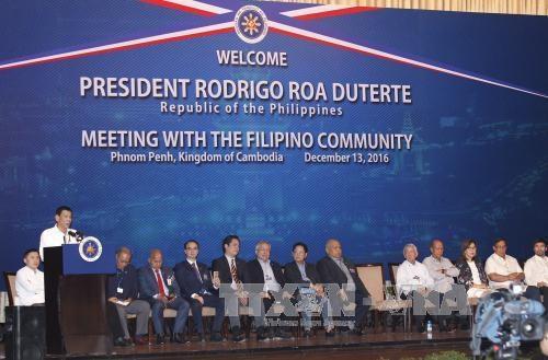 柬埔寨和菲律宾加强合作关系 hinh anh 1