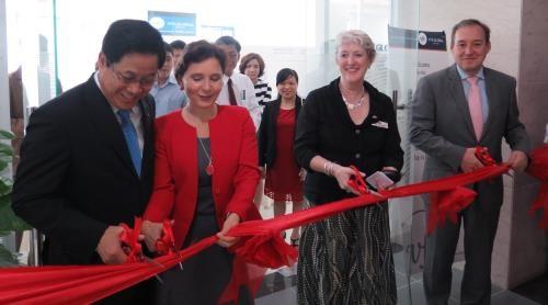 设在越南岘港市的英国和澳大利亚签证申请中心正式落成 hinh anh 1