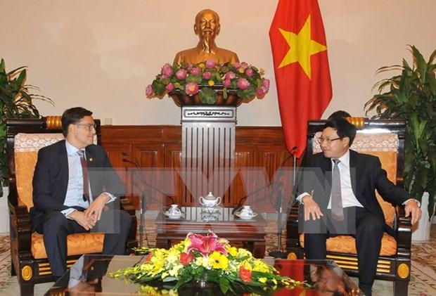 委内瑞拉外交部代表团对越南进行访问 hinh anh 1