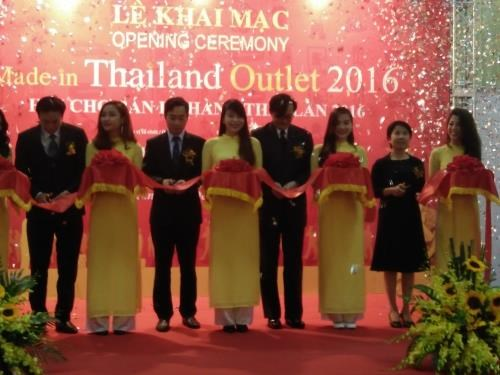2016年泰国商品零售展在河内开展 hinh anh 1