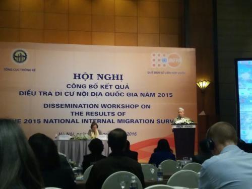 2015年越南流动人口调查结果出炉 hinh anh 1