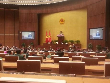 越南国会副主席汪周刘会见全国优秀老兵代表团 hinh anh 1
