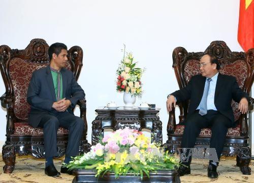 政府总理阮春福会见东帝汶驻越大使 hinh anh 1
