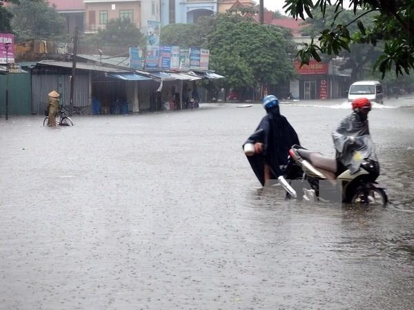 越南政府总理下发关于应战洪水的通知 hinh anh 1