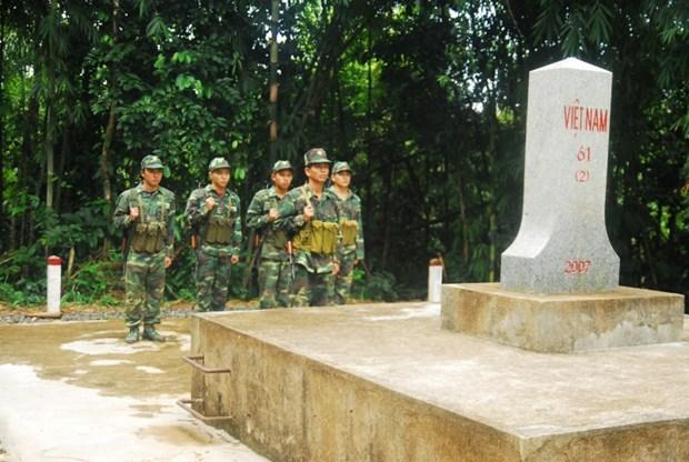 越南平福省与柬埔寨三省加强合作共建和平边界线 hinh anh 1