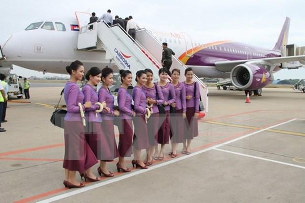 柬埔寨吴哥航空开通暹粒至北京直飞航线 hinh anh 1